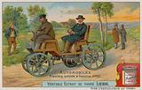 The first petrol car, 1875