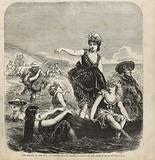The syrens of the sea, a sketch of the pretty bathers on the French coast at Trouville