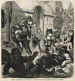 Alsace ladies tending the wounded in the town of Gunstell after the Battle of Woerth