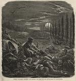 Human vultures stripping and robbing the dead on the battlefield of Gravelotte
