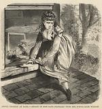 Awful tragedy at Bath; Escape of Miss Kate Prankard from the schoolroom window