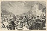 The season at Brighton; A stiff breeze on the Parade