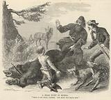 A bear hunt in Russia