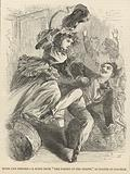 Music and discord; A scene from The Taming of the Shrew as played at Clapham