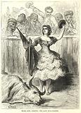 Maria Rosa Carmona, the lady bull-fighter