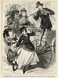 A young fellow attacks two shop-girls near Everton with his carriage whip