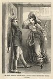 An angry operatic heroine boxes a hostile critic's ears
