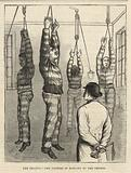 The trapeze – the torture of hanging by the thumbs