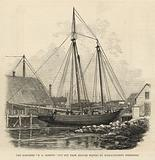 The Schooner E A Horton cut out from British waters by Massachusetts fishermen
