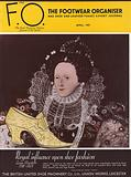 Front cover of The Footwear Organiser, 1930s, Queen Elizabeth I