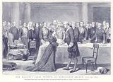 Her Majesty's First Council at Kensington Palace, June 20, 1837
