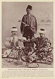 Monahan Levi, Isaac Cohn and H Hondon, Turkish Jews