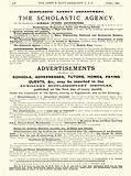 Page from the Army & Navy Catalogue, April 1902