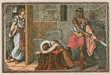 Scene from the life of Jesus