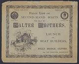 Salter Brothers, Boat Builders, Oxford