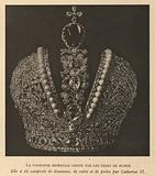 Imperial Crown of Russia, used by Russian monarchs from 1762 until the overthrow of the monarchy in the Russian …
