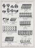 Page of catalogue for the Ironmongery and Hardware Trades, c 1895