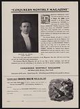 Subscription form for Conjurers Monthly Magazine, Editor In Chief Harry Houdini
