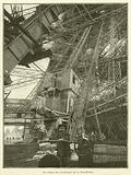Le chemin des ascenseurs de la Tour Eiffel