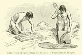 Exposition retrospective du Travail, l'agave chez les Azteques