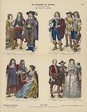 Costumes of English nobility, 17th Century