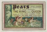 Advertisement for Pears Soap