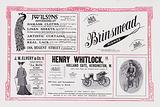 Page of advertisements for The Gentlewoman