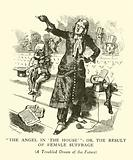 The Angel in the House, or the Result of Female Suffrage