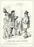 Punch cartoon: A Regular Gold Dustman