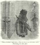 Punch cartoon: Pea souper fog in London, Wednesday 29 October 1856