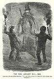 Punch cartoon: Fog in London, 21 January 1865