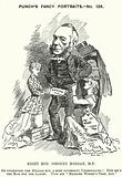 Punch cartoon: George Osborne Morgan, Welsh lawyer and Liberal politician