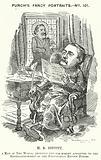 Punch cartoon: Thomas Hay Sweet Estcott, English journalist and editor