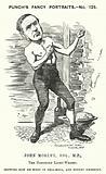 Punch cartoon: John Morley, English Liberal politician