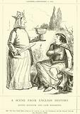 A Scene from English History, Queen Eleanor and Fair Rosamond