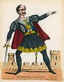 Mr Creswick as Hamlet