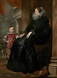 A Genoese Noblewoman and Her Son