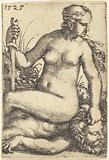 Judith Seated on the Body of Holofernes