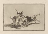 El animoso moro Gazul es el primero que lanceo toros en regla (The Spirited Moor Gazul is the First to Spear Bulls …)