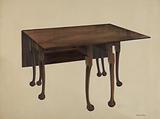 Gate-legged Table, Ball & Claw Feet