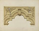 Carved Stone Arch Over Doorway