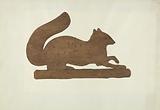 Squirrel Weather Vane