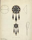 Brooch and Earring