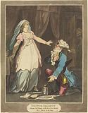 Doctor Gallipot placing his Fortune at the feet of his Mistress