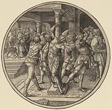 The Flagellation of Christ and Christ Before Pilate