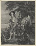 Charles I of England and the Duke of Hamilton