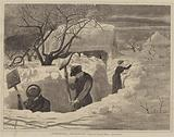 A Winter-Morning, – Shovelling Out