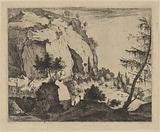 Rocky Landscape with Fir