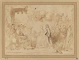 George III Resuming Royal Power in 1789