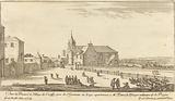Veue de Prieure et Village de Croissy